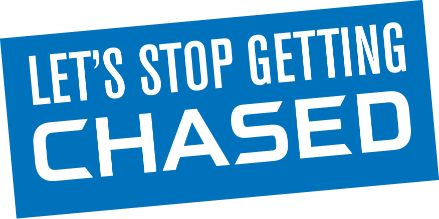 chase bank let's stop getting